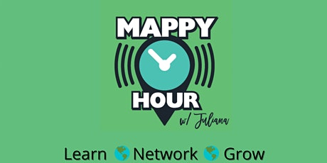 Mappy Hour (Lunchish) Time: What are you working on? tickets