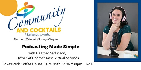 Community and Cocktails - No. CS Chapter tickets