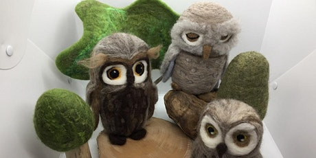 Needle Felting Owl Workshop tickets