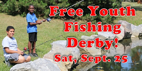FREE Youth Fishing Derby at Shiloh Park, Zion, IL tickets