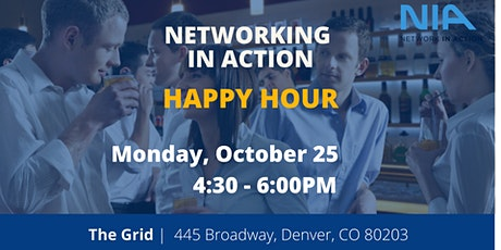 Networking in Action  | Happy Hour tickets