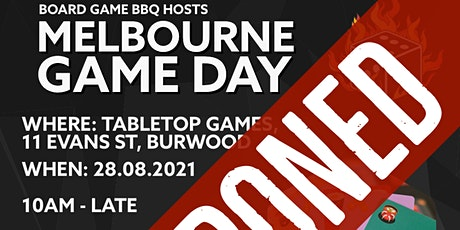 Board Game BBQ Melbourne Game Day #2 tickets