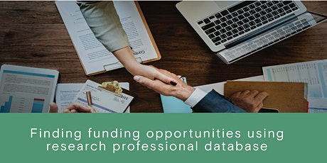 Finding Research Funding Opportunities using Research Professional tickets