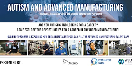 2: Autism Community and Advanced Manufacturing Pilot Program - Info Session tickets