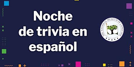 Noche de trivia en español  - Spanish Trivia Night tickets
