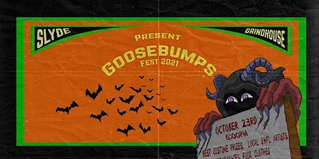 Goosebumps Fest 2021 tickets