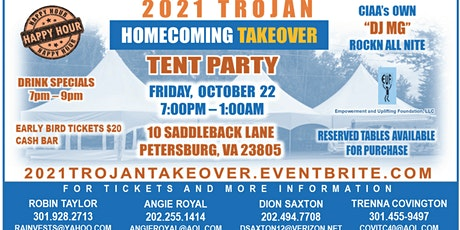 2021 TROJAN HOMECOMING  TAKEOVER TENT PARTY tickets
