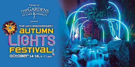 10th Anniversary Autumn Lights Festival tickets