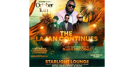 The Lajan Continues Day Party tickets