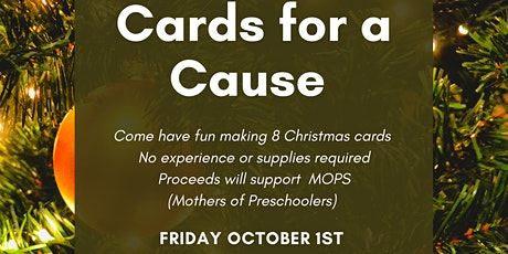 Cards for a Cause: Christmas Cardmaking Fundraiser tickets