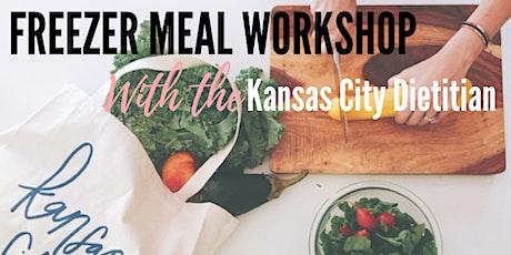 Freezer Meal Prep Workshop tickets