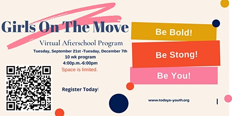 Girls On The Move Virtual Afterschool Program tickets