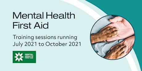 Mental Health First Aid - New Zealand Class 4 tickets