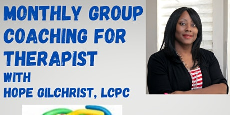 Therapist Group Coaching tickets