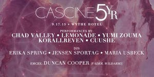 Cascine 5YR (Chad Valley, Lemonade, Yumi Zouma,...