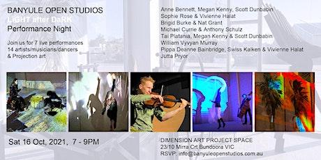 Banyule Open Studios Performance Night – LiGHT after DaRK tickets