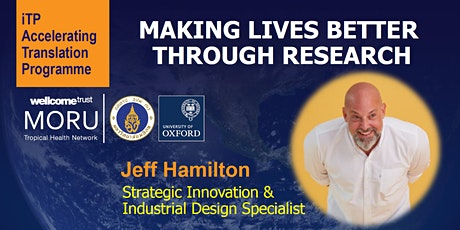 iTP Workshop Series - Making Lives Better Through Research tickets