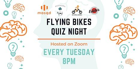 [ONLINE] Flying Bikes Quiz Night Tickets