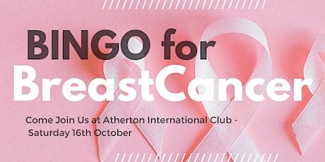 Bingo For Breast Cancer tickets
