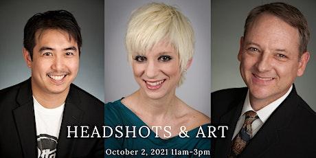 Headshots & Art tickets