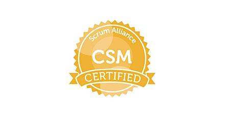 Certified Scrum Master (CSM) Virtual Training from Raj Kasturi tickets