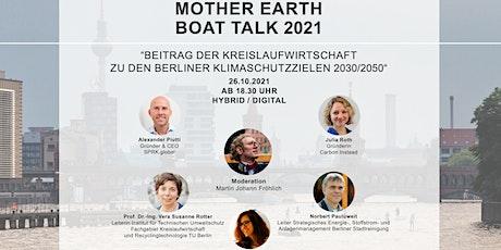 Mother Earth Boat Talk am 26.10.2021 in Berlin tickets