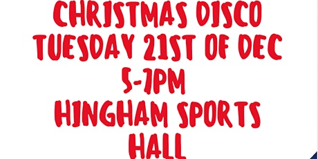 Hingham Christmas Disco tickets