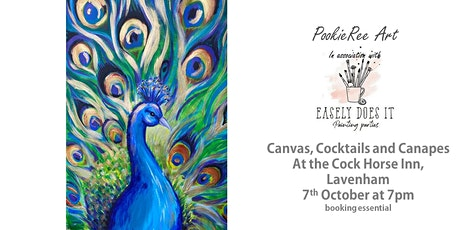 Canvas Cocktails & Canapes -  Peacock -  Lavenham, Suffolk, 7th October tickets