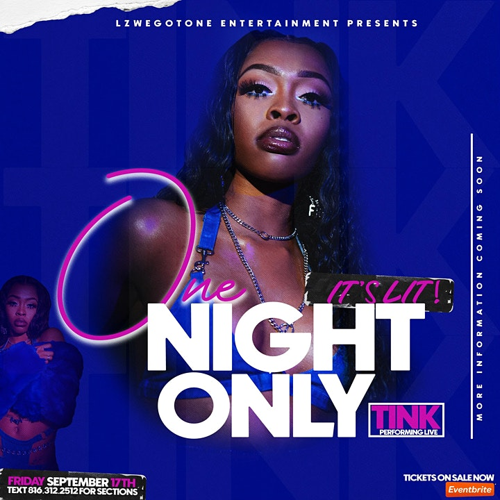ONE NIGHT ONLY - TRINA AND TINK PERFORMING LIVE image