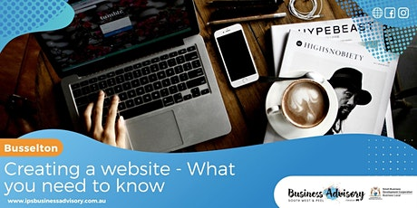 Creating a Website:  What you need to know. tickets