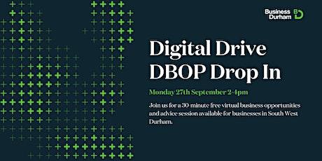 Digital Drive DBOP Drop In 27th September tickets