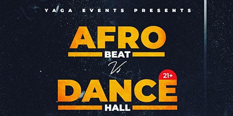 Afrobeats vs Dancehall tickets
