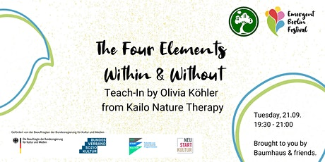 The Four Elements Within & Without | Teach-In | Emergent Berlin Festival Tickets