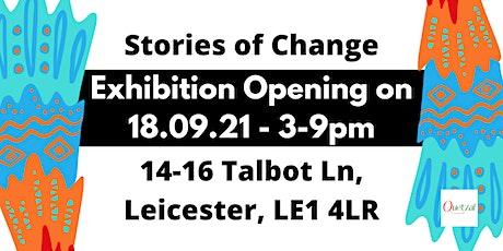 Quetzal Stories of Change Exhibition tickets