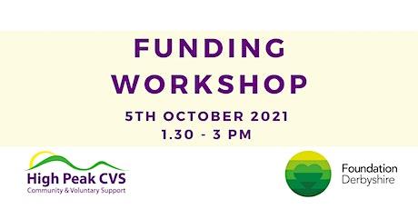 High Peak CVS Funding Workshop - Foundation Derbyshire tickets