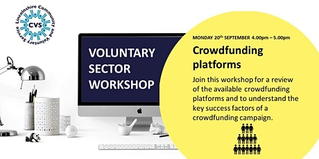 Voluntary Sector Workshop: Crowdfunding tickets