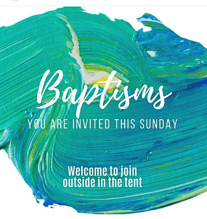 Afbeelding van Baptism Service - Doopdienst 5 September 2021