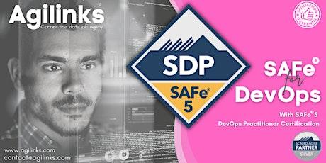 SAFe DevOps (Online/Zoom) Oct 07-08, Thu-Fri, New York Time (EST) tickets