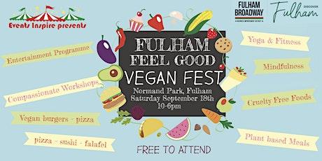 Fulham Feel Good Vegan Fest tickets