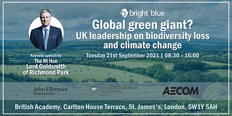Global green giant? UK leadership on biodiversity loss and climate change tickets