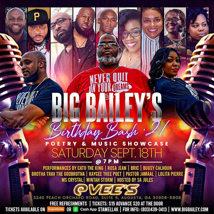 Big Bailey's Birthday Bash '21 image