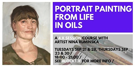 Portrait Painting In Oils tickets