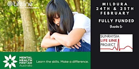 Mental Health First Aid - 2 Day Workshop - MILDURA tickets