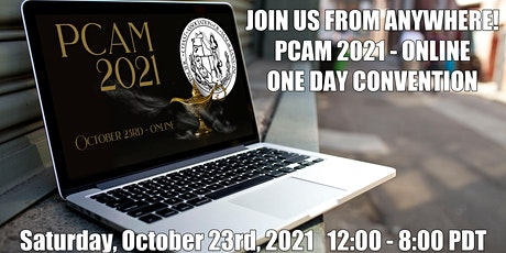 PCAM 2021 tickets
