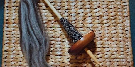 Drop Spindle Spinning for Beginners with Deborah Gray | Shetland Wool Week tickets