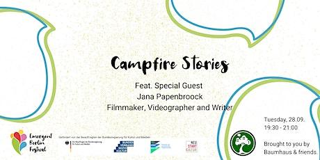 Campfire Stories feat. Jana Papenbroock | Emergent Berlin tickets
