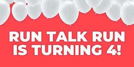 Run Talk Run's 4th BIRTHDAY PARTY tickets