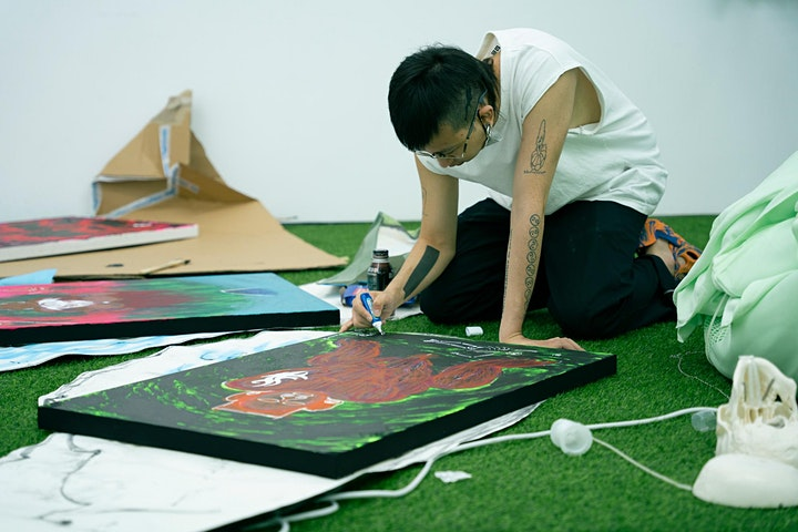 de Sarthe Artist Residency x Chen Pin Tao aka AznGothBoy image