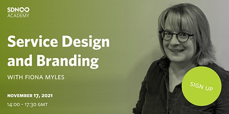 Service Design and Branding tickets