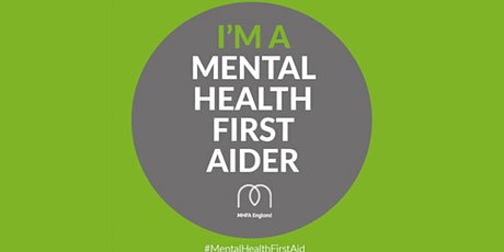 Mental Health First Aid 2 day Course for Individuals and Businesses tickets